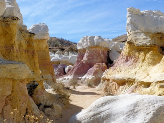 paint mine rock formations