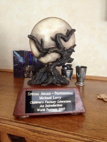 World Fantasy Award Statue