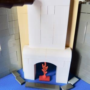 lego fireplace