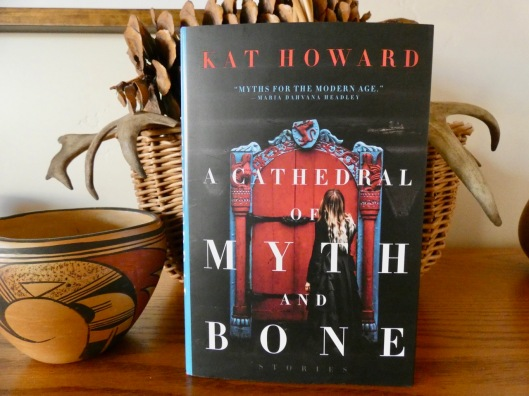 book cover for cathedral of myth and bone